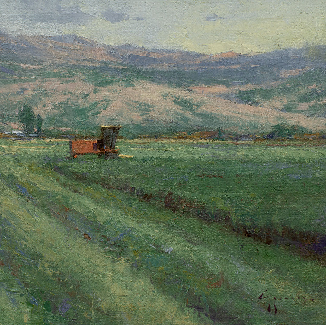 Montgomery-Lee Fine Art   Haying