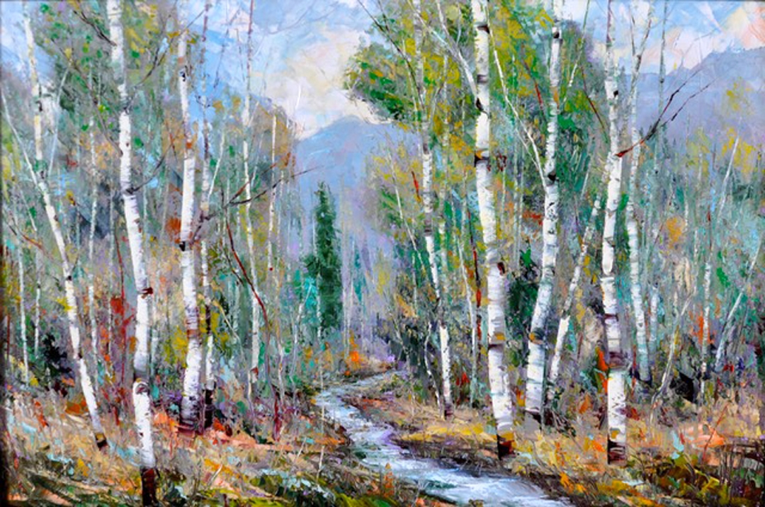 Montgomery-Lee Fine Art   Coming of Fall