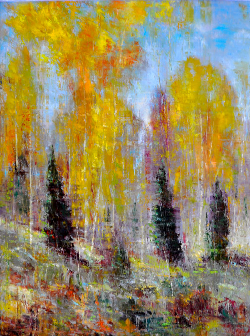 Montgomery-Lee Fine Art   Fall Abstract