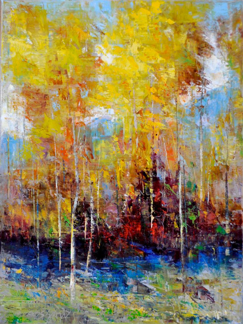 Montgomery-Lee Fine Art | Fall Peak