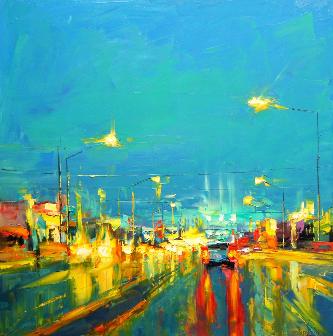 Montgomery-Lee Fine Art | Blue Throughout