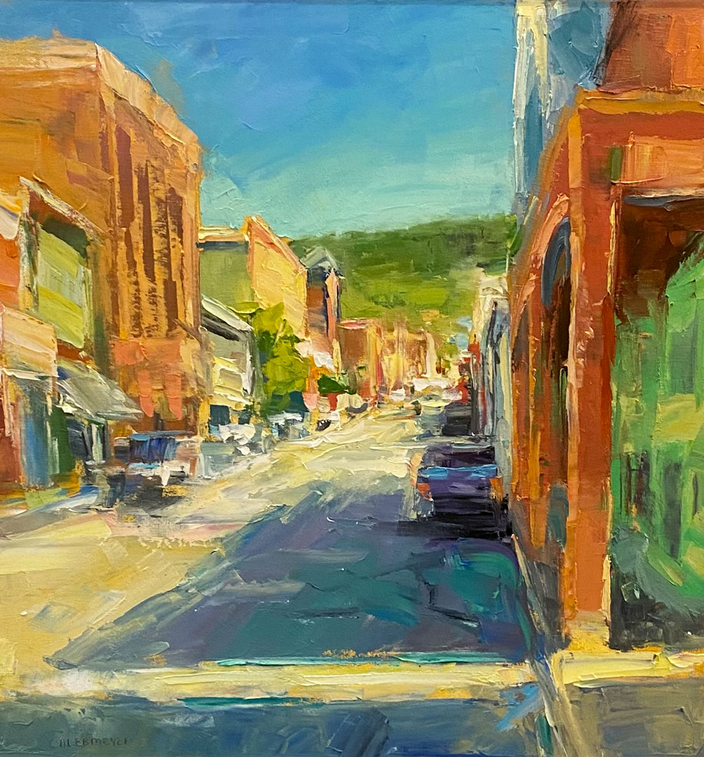 Montgomery-Lee Fine Art | Bright and Blue