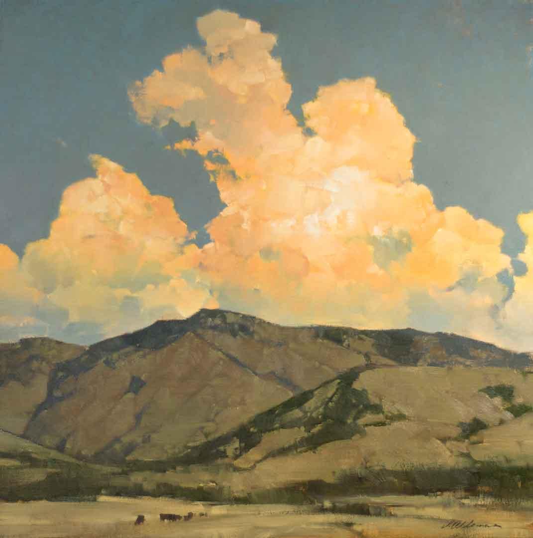 Montgomery-Lee Fine Art   Evening Formations