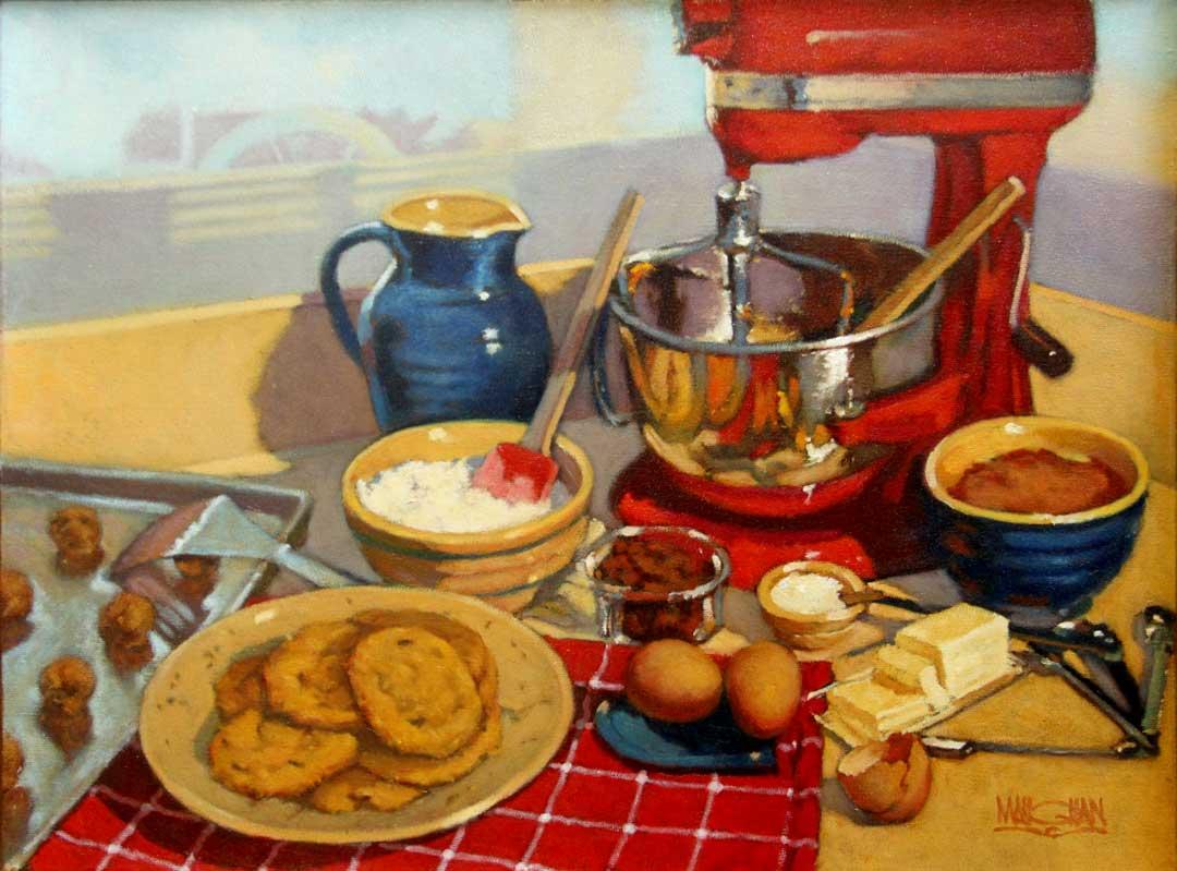 Montgomery-Lee Fine Art | Cookies in Red