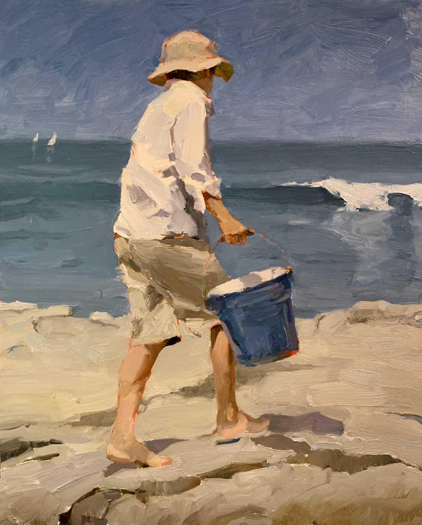 Montgomery-Lee Fine Art   Seaside Scout