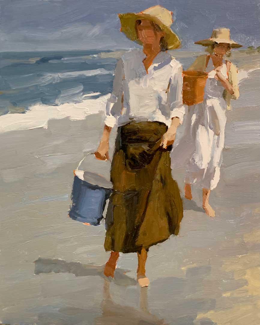 Montgomery-Lee Fine Art   Waterfront Wander