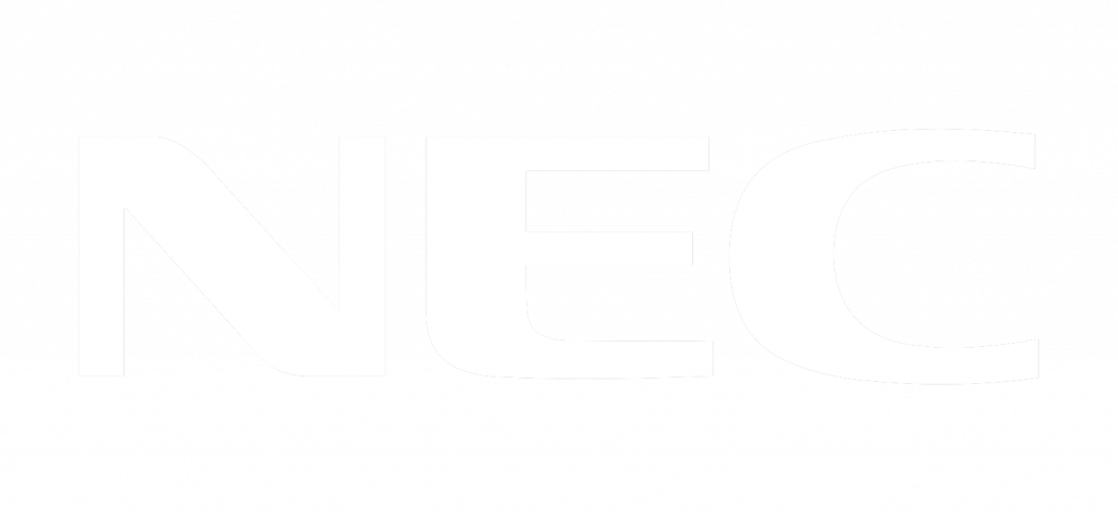 NEC Logo Inverted
