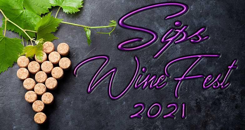 Sips WineFest 2021 Logo
