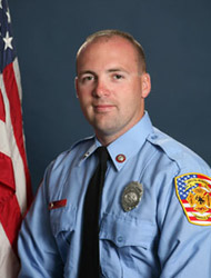 Lt. Jeremy Messersmith - Fire Number Sign Maintenance
