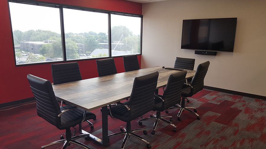 Remodel Renovation of meeting room, after photo
