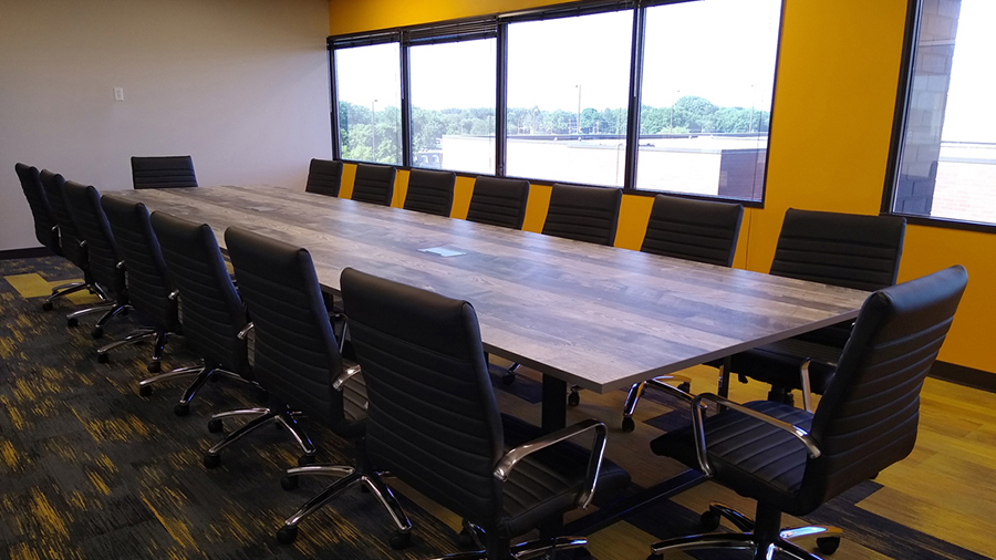 Remodel Renovation of conference room, after photo
