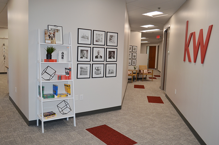 Remodel Renovation of office space, after photo