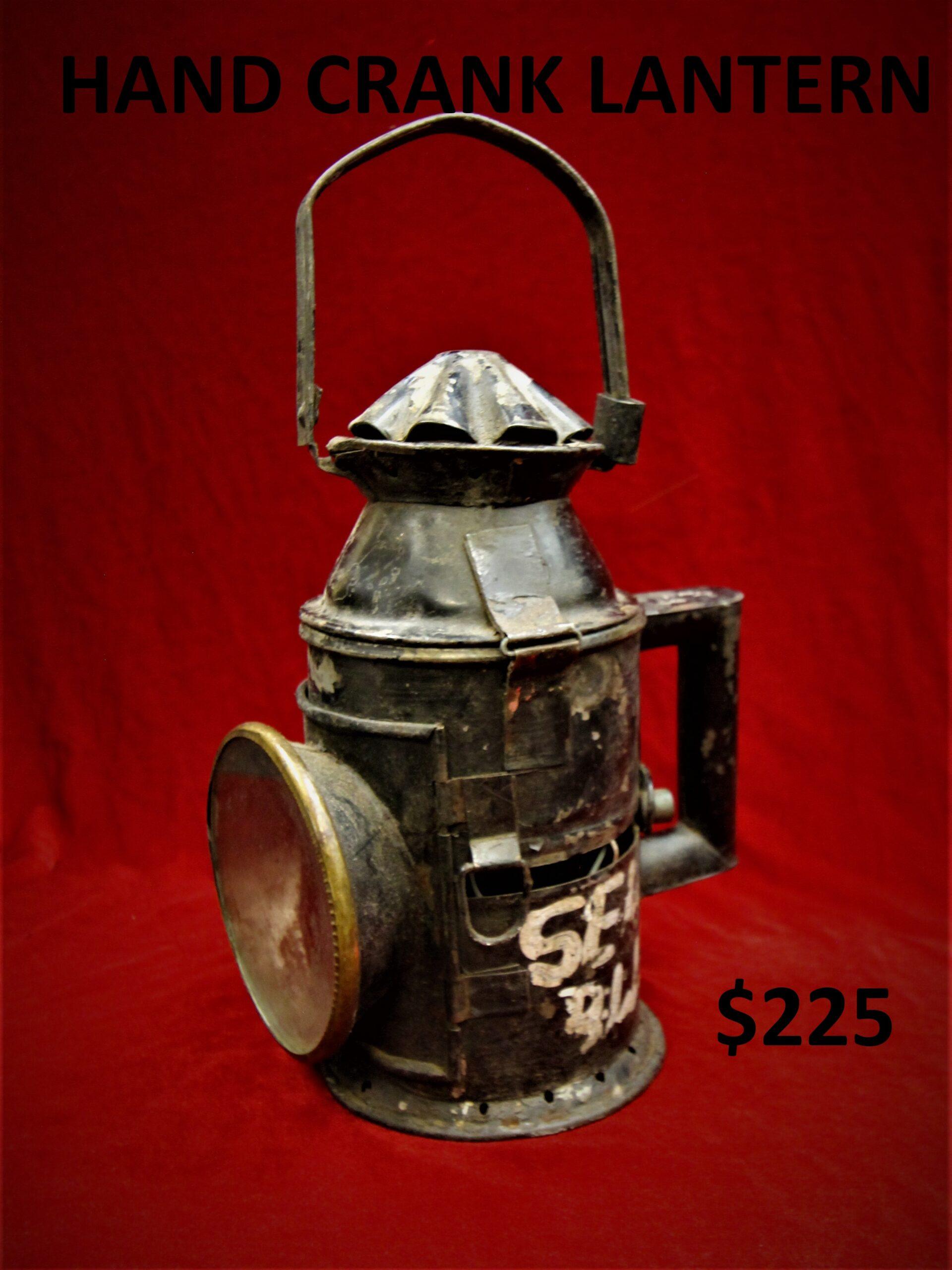 Hand Crank Lantern Image