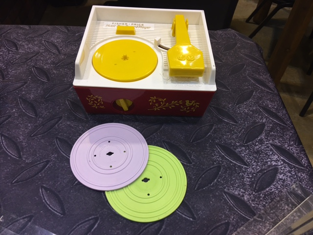 Fisher Price Record Player Image