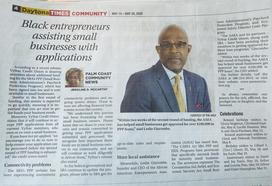 Black entrepreneurs assisting small businesses with SBA PPP applications | Daytona Times