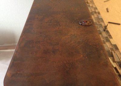 Rusted Metal Bar