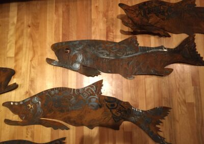 Native American Design Salmon