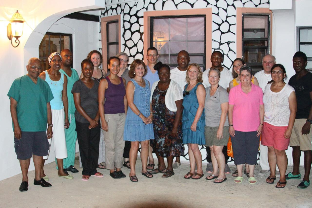 Volunteers in Haiti