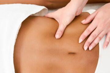 masajes después de una cirugía