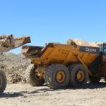 Sandstone Quarry Block Loading