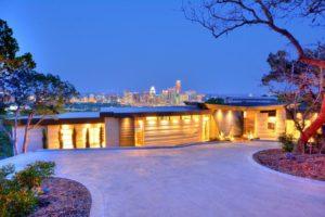 Modern Stone home Austin, Texas