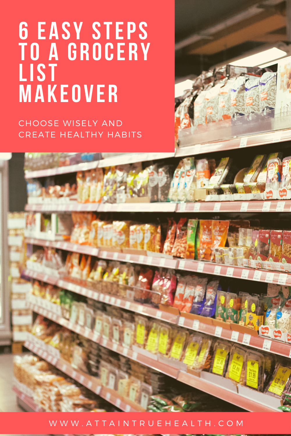 healthier grocery list tips