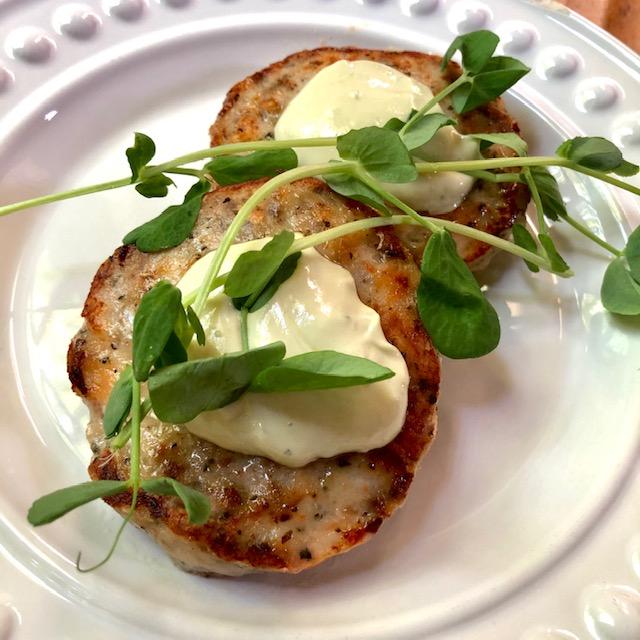Shrimp Burgers with Avocado Aioli Recipe