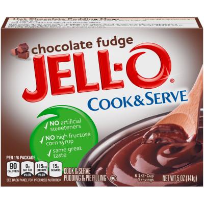 jello chocolate