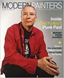 May 2012 issue of Modern Painters featuring Mike Kelley on the cover.