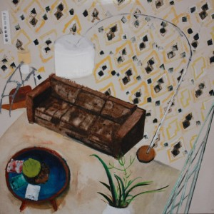 Tracy Fitzgerald, Sitting Room, 2012  (Image courtesy of Artfetch)