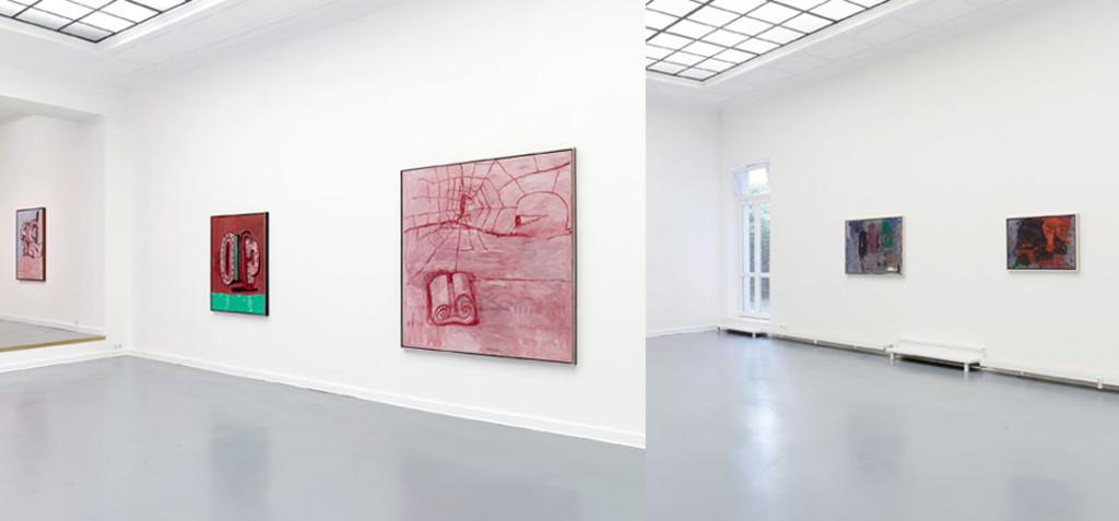 Philip Guston, Installation view at Aurel Scheibler, Berlin