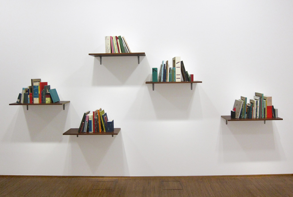 Daria Irincheeva, Empty Knowledge, Installation view from Progress Report, curated by Kris Chatterson and Vince Contarino, SPRING/BREAK, 2015