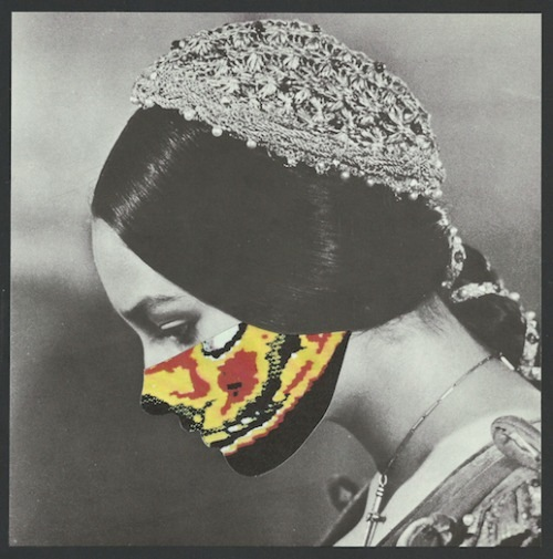 Kubi Vasak, Comfort of Sorrow, Collage, framed, from Ego-State, curated by Kara Brooks, SPRING/BREAK, 2015