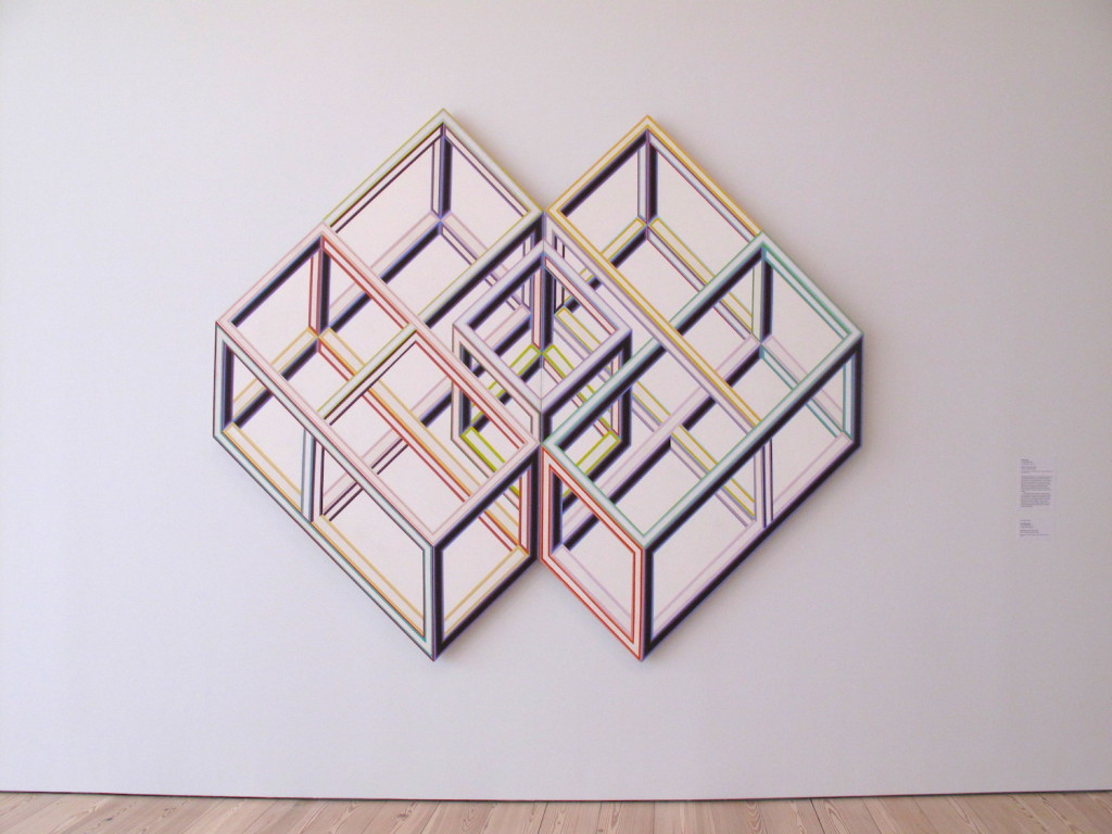 Alvin Loving, Rational Irrationalism, Acrylic on shaped canvas, 1969, Whitney Museum of American Art, Photograph by Katy Hamer, 2015