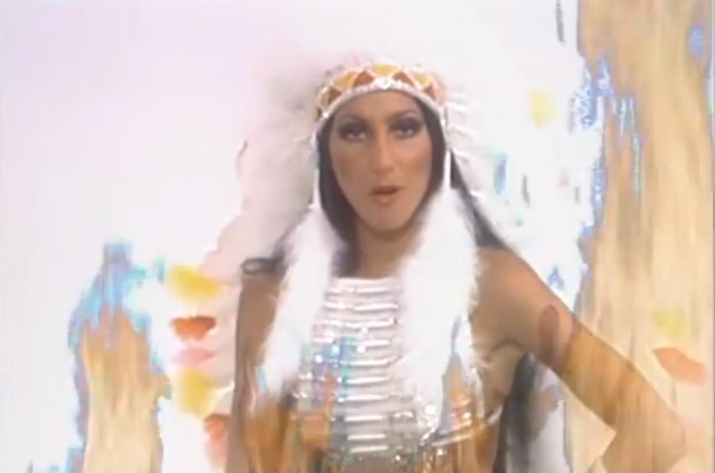 Cher, Half Breed, Video still courtesy of Tim Goosens, 2015