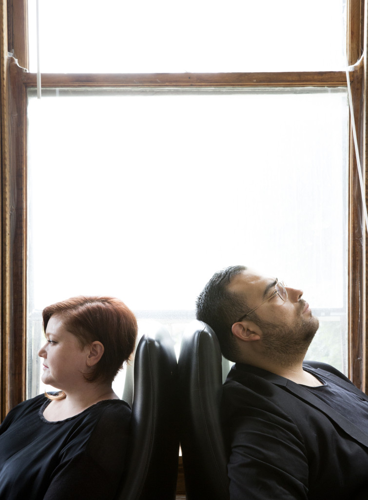 PATRON Directors Julia Fischbach and Emanuel Aguilar, Photo Credit: Sarah Pooley, Image courtesy of the gallery, 2015