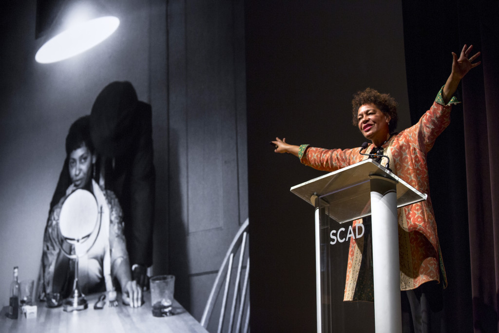 Carrie Mae Weems, Savannah College of Art and Design, Trustees Theater, Savannah, GA, For deFINE ART, 2016