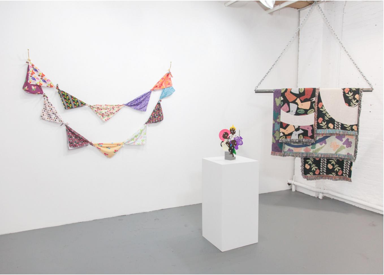 "Damien Davis, ""OBJECT/AFFECTION"" (2016), Installation view, Black Ball Projects, Brooklyn, 2016"