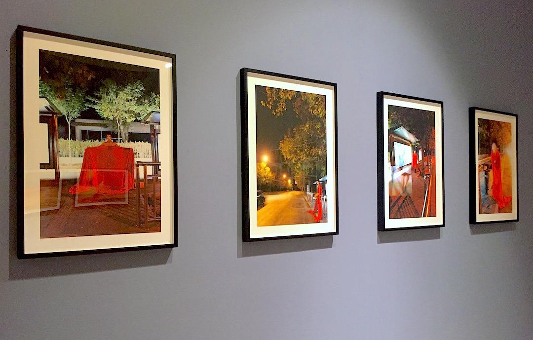Deng Tai, Shadow, Installation view at MoMA PS1, New York, Photograph by Katy Hamer, 2016