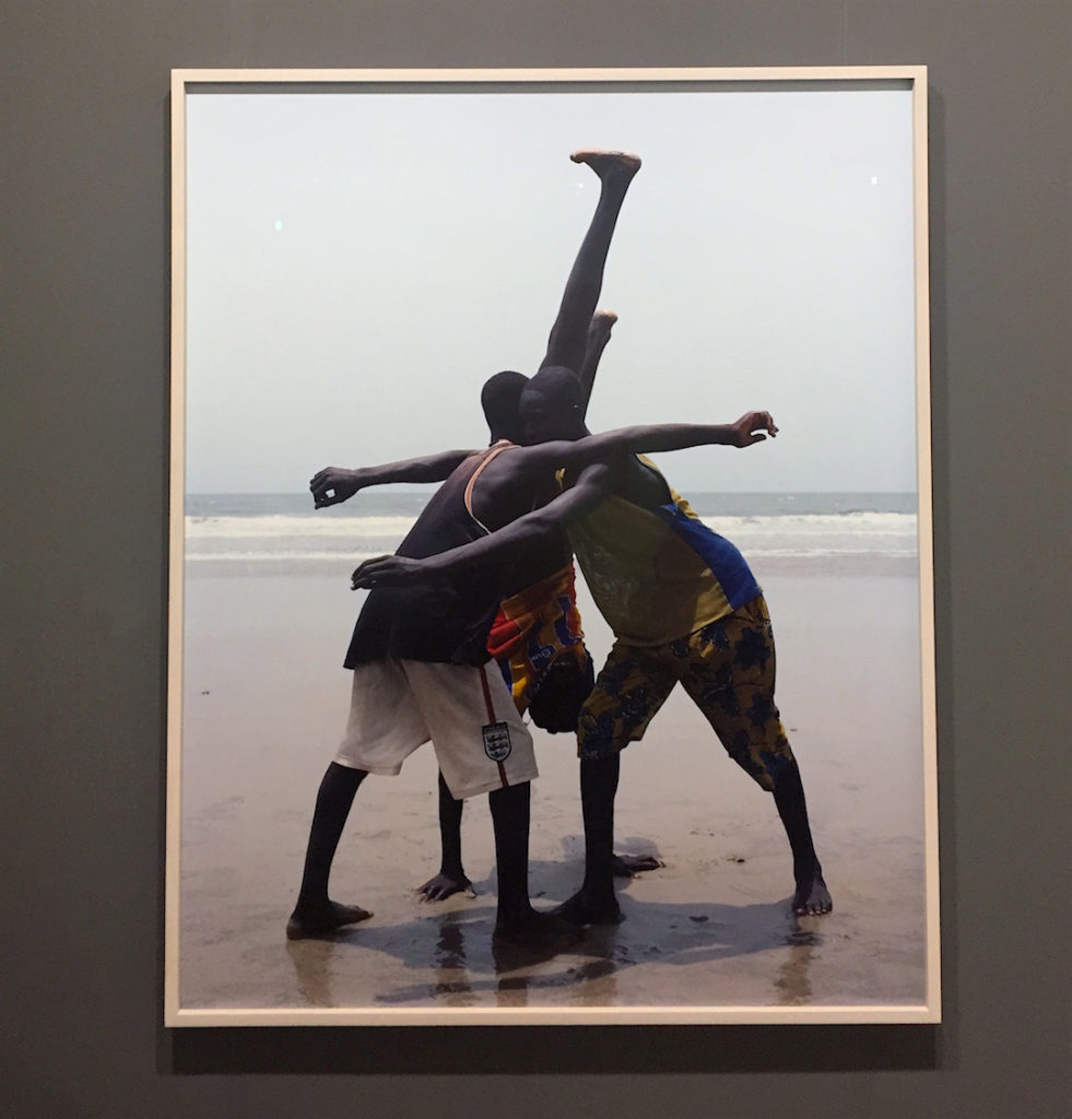 Viviane Sassen, Annas, 2007, Chromogenic print, from an edition of 5 with 2 AP's, Courtesy of Pace/MacGill, New York, Art Basel Miami, 2016, Photograph Katy Hamer
