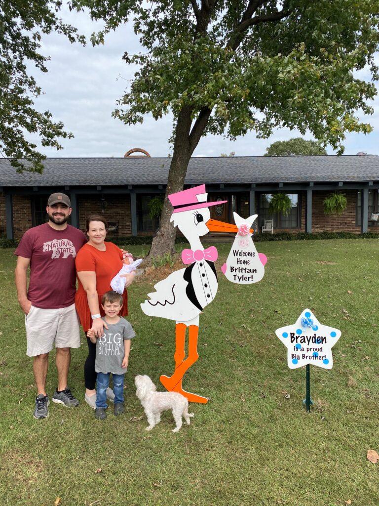 Stork Signs- Northwest Arkansas