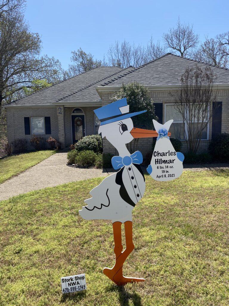 yard signs nwa