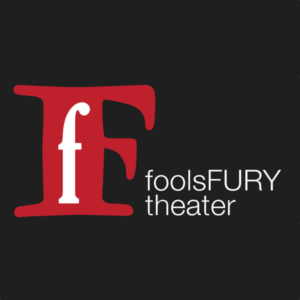 Logo for fools fury theater