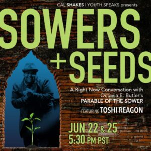 sowers and seeds cal shakes poster