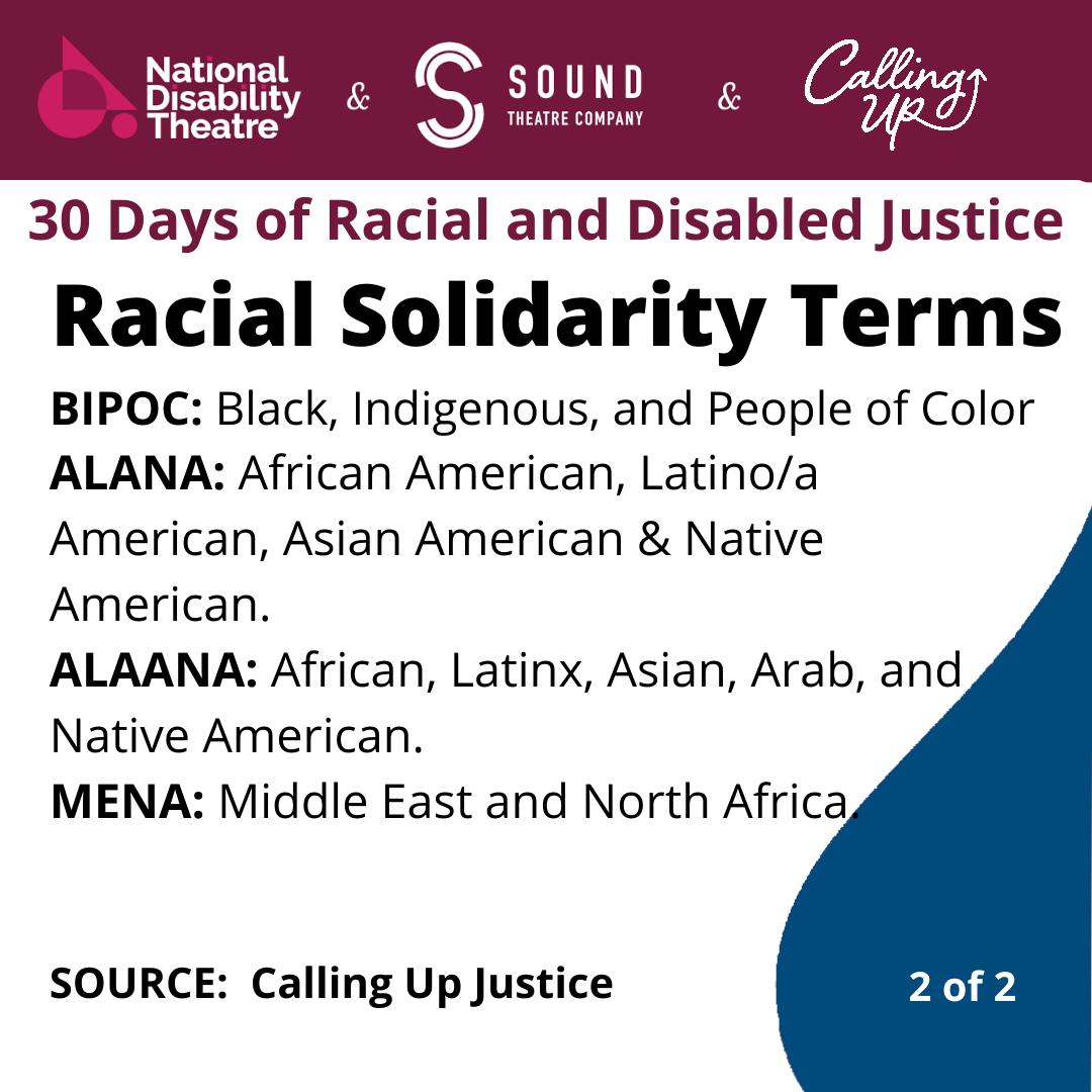 racial solidarity terms