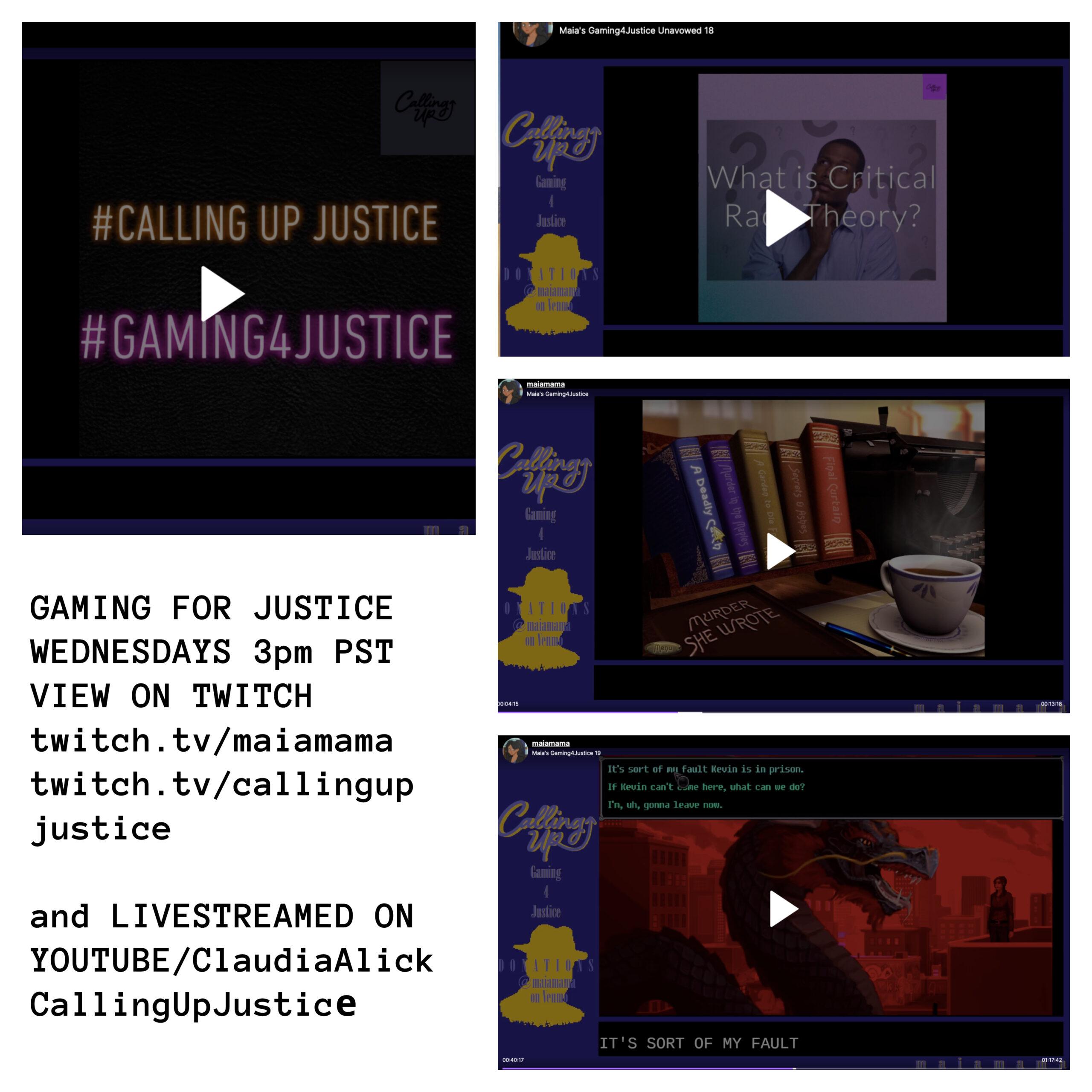 gaming 4 justice
