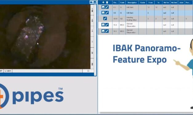 IBAK Panoramo in ITpipes – Feature Expo