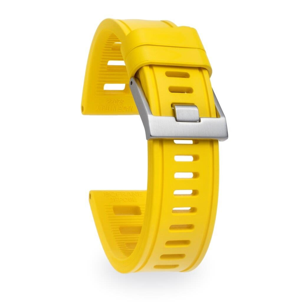 yellow sport watch band