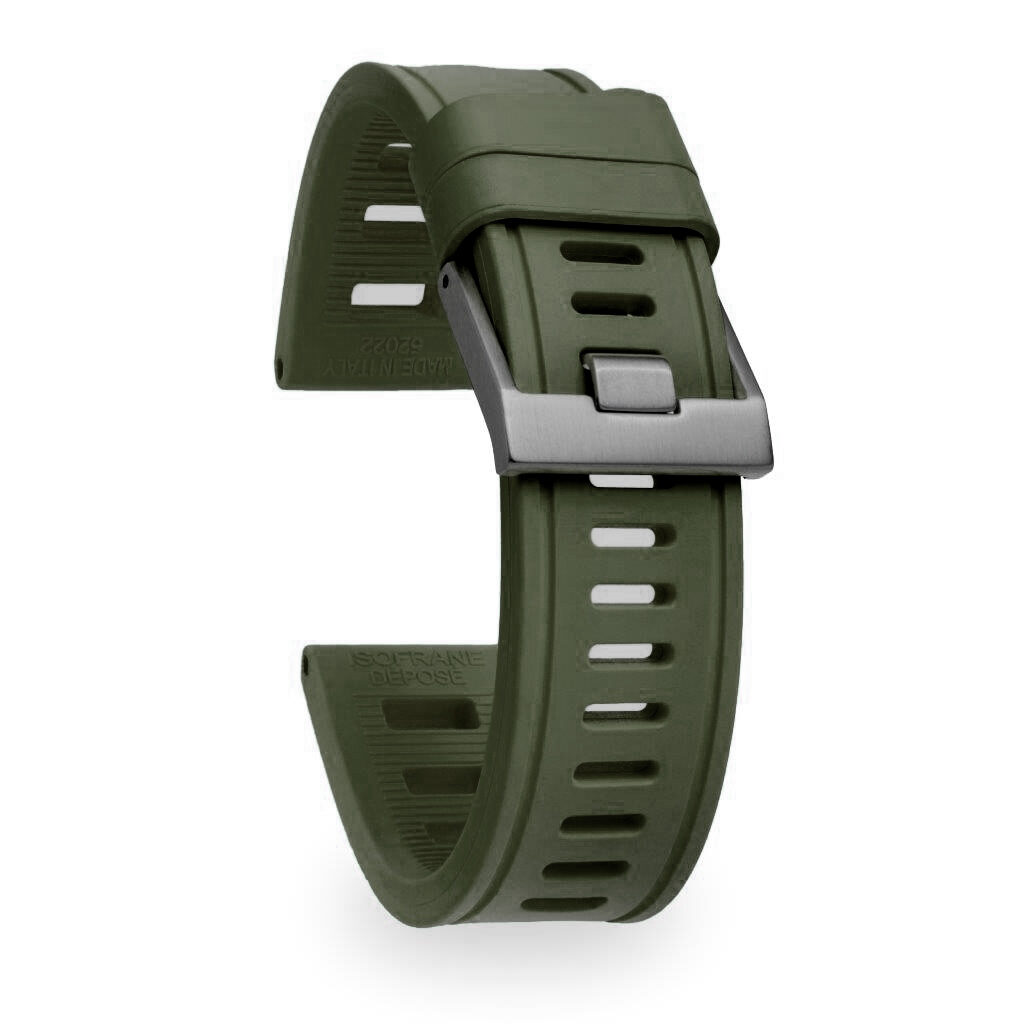 NATO green wrist watch band