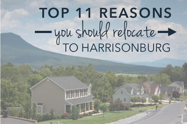 Top 11 Reasons to Relocate to Harrisonburg, Virginia | Harrisonblog